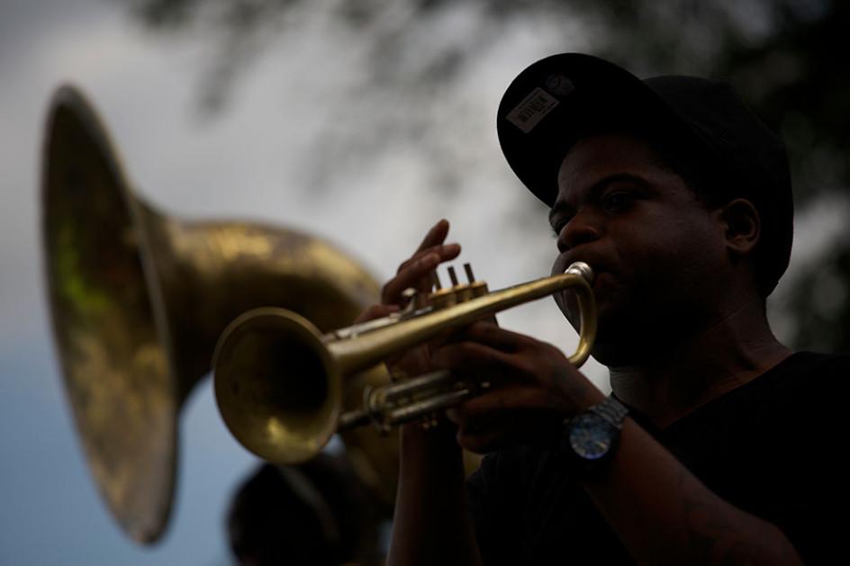New Orleans Jazz Man
