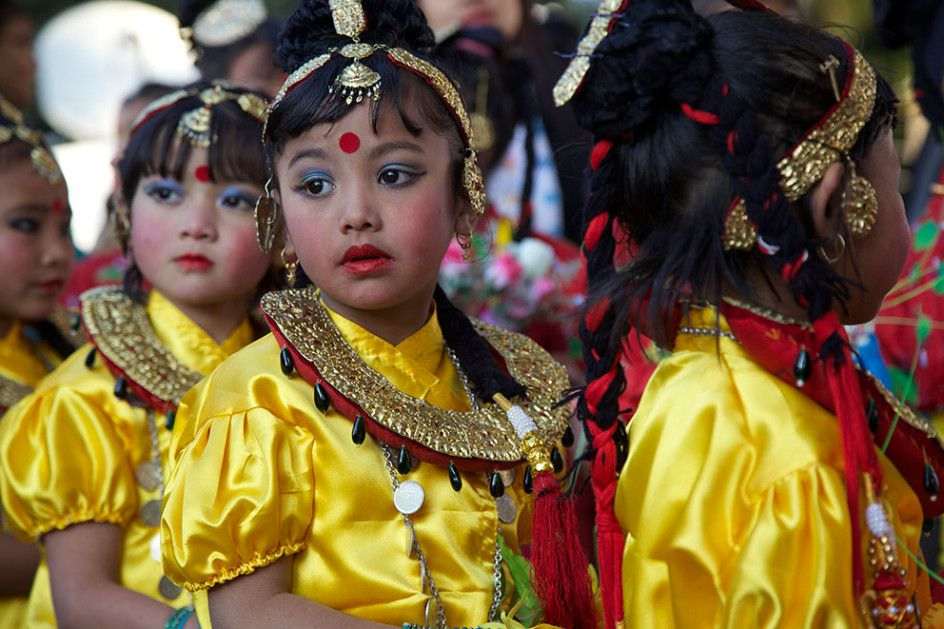 Young Darjeeling Dancers