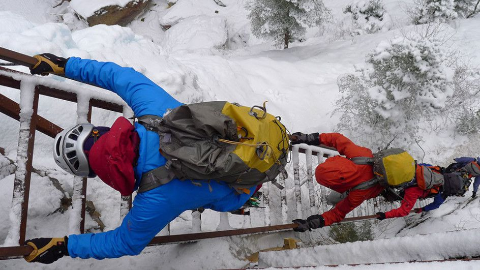 Ice Climbers, Ouray Colorado