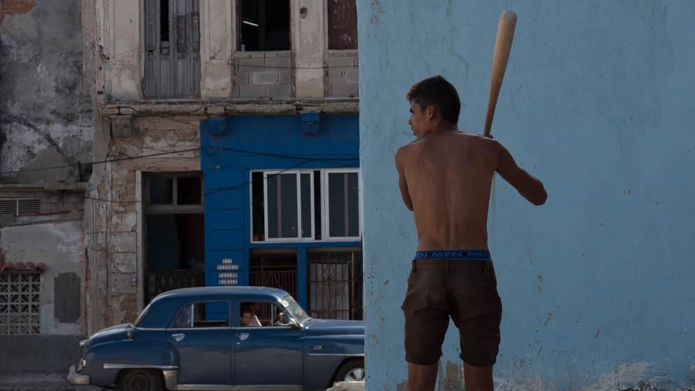 Street baseball, Havana