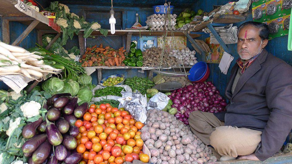 Produce Vendor, Darjeeling