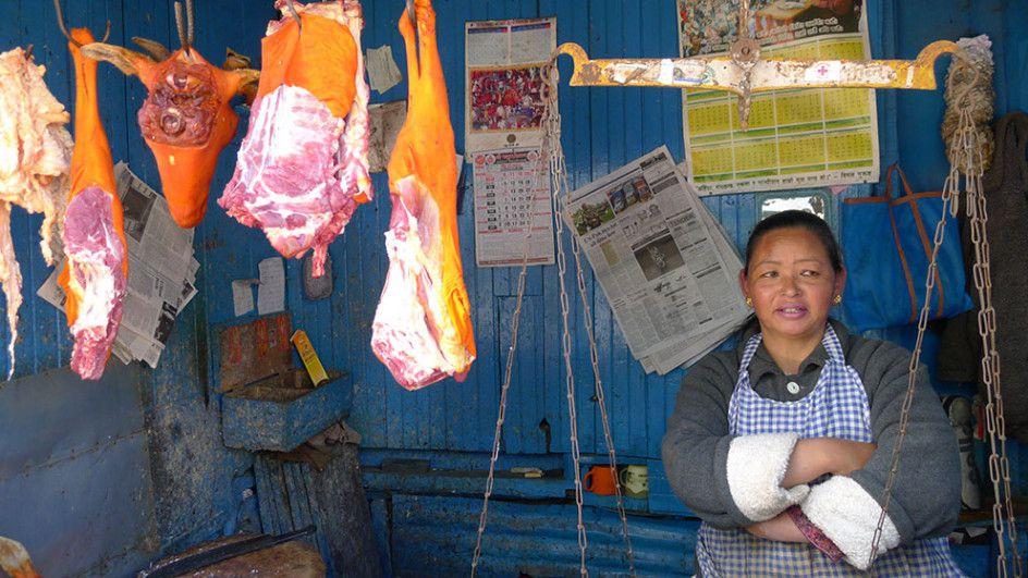 Market Stall, Darjeeling