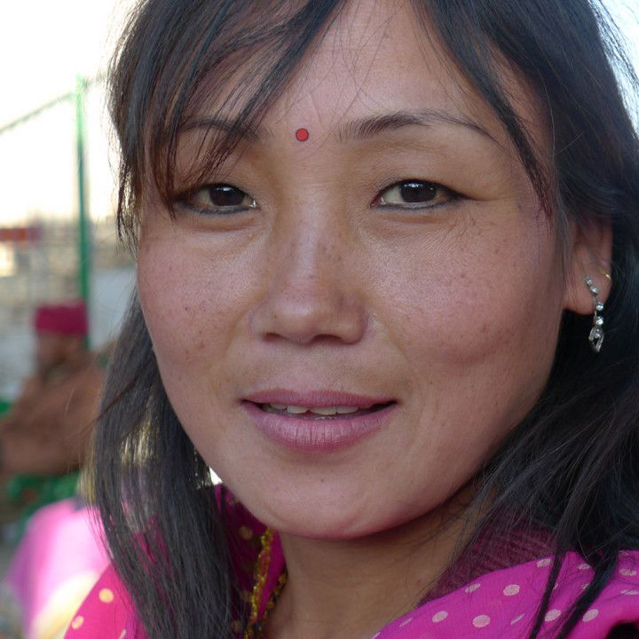 Young Tibetan Woman, Darjeeling