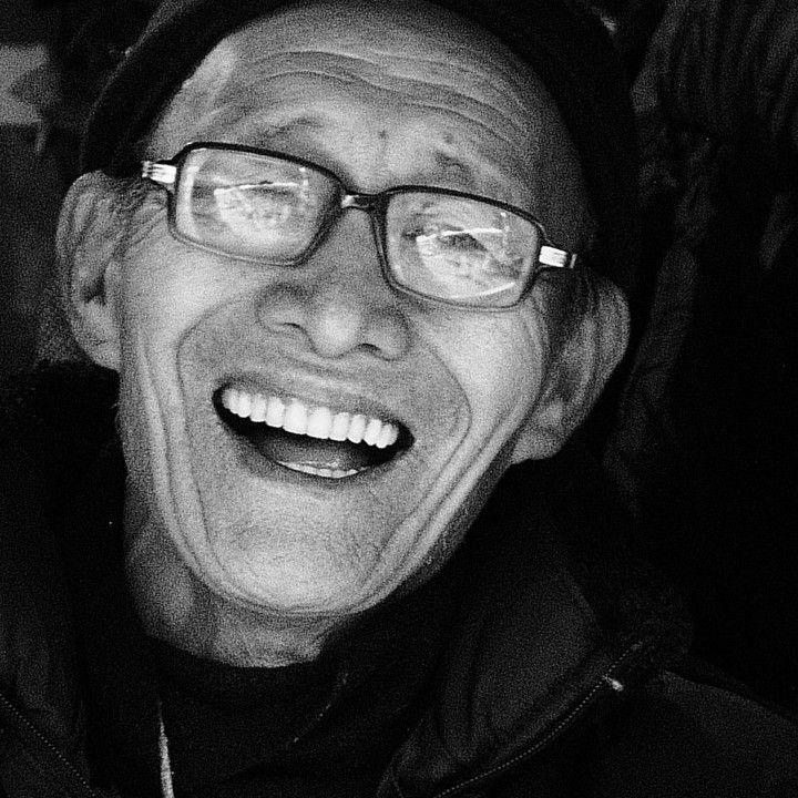 Man At Market Stall, Darjeeling