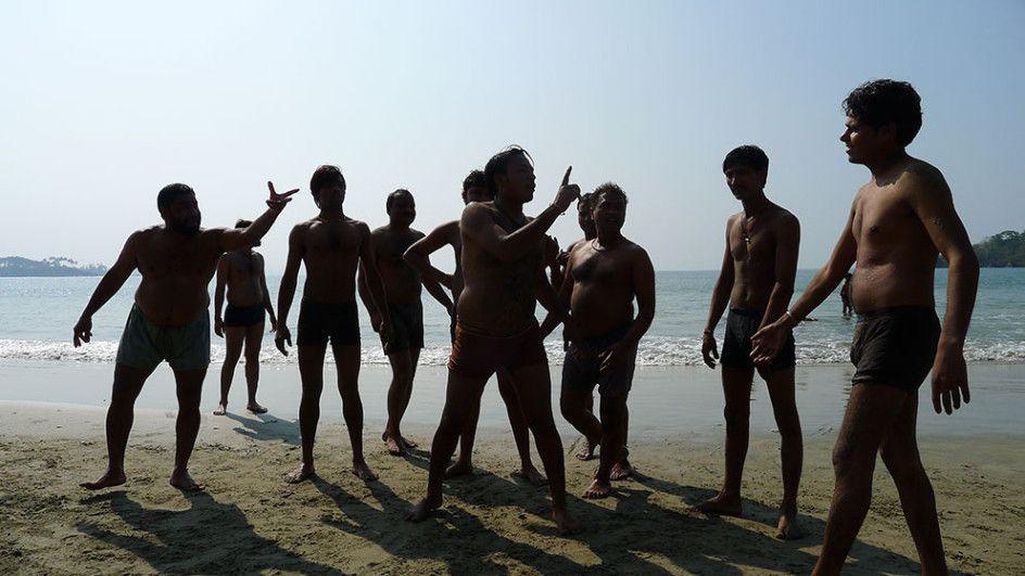 Palolem, Goa, India ..Game